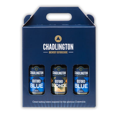 Oxford Blue & Blonde Gift Pack