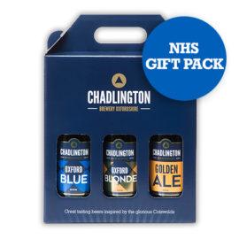 NHS Gift Pack-Chadlington Brewery 3-pack of beers