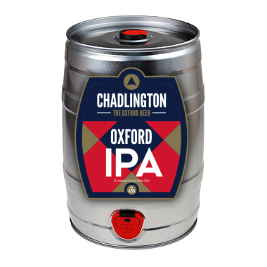 Oxford Blue-Mini-Keg-Chadlington Brewery